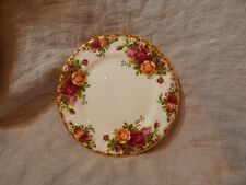 "Vintage Royal Albert Old Country Roses Bread and Butter Plate 6"" 1962"