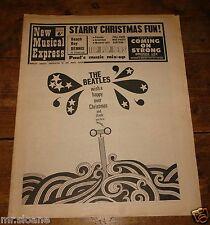 NME 24 DEC 1966 BEATLES DENNIS WILSON BEATLES GENE VINCENT TOM JONES ELVIS MOVE