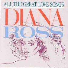 All the Great Love Songs by Diana Ross (CD, Motown)
