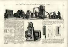 1889 Oerlikon Works Engine And Dynamo For Steamships 1