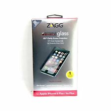 ZAGG INVISIBLE SHIELD SCREEN PROTECTOR FOR IPHONE 6 PLUS TEMPERED GLASS IPPGLS