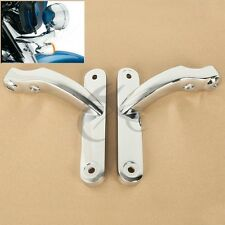Auxiliary Lighting Brackets For Harley Street Glide FLHX Frame Parts 2009-2016