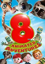 8 Film Animated Adventures Pack [dvd] [2discs] (First Look) (alcdar96659d)