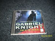Gabriel Knight: Sins of the Fathers (PC, 1993) With Original Case