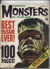 Famous Monsters of Filmland Magazine #13 Horror Movies 100 pg giant Frankenstein