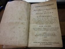 AN ARRANGEMENT OF THE PSALMS, HYMNS, AND SPIRITUAL SONGS OF THE REV. ISAAC WATTS