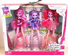 BARBIE A FASHION FAIRYTALE FLAIRY DOLLS GIFT SET SHIM'R GLIM'R SHYN'E FAIRY DOLL