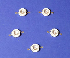 5x 5W POWER UV LED  Emitter 390nm Ultra Violet  Banknote Money Geld Schwarzlicht