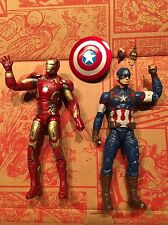 "Marvel Legends Civil War 6"" IRON MAN Captain America Age of Ultron Loose Lot"