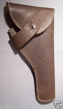 12 INCH DARK BROWN GUN HOLSTER INDIANA JONES STYLE REPLICA