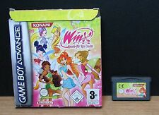 WINX CLUB QUEST FOR THE CODEX - Game Boy Advance - Italiano - Usato