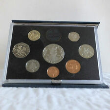 Guernsey 1989 8 MONETE PROOF ANNO SET CON CORONA-mintage 2.500