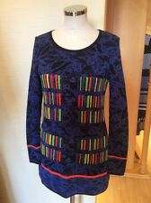 Olivier Philips Sweater Size 20 BNWT Blue Black Orange Green RRP £134 Now £60