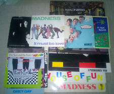 Madness vinyl records collection