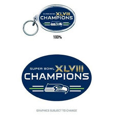 Super Bowl 48 Seattle Seahawks Champions Officially Licensed Acrylic Key Ring