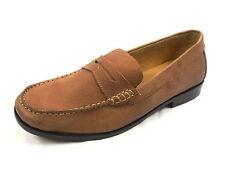 Neu  HARRYKSON  Leder Mokassins  Gr. 44  braun  Slipper Schuhe Halbschuhe Herren