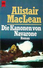 ALISTAIR MACLEAN - DIE KANONEN VON NAVARONE  - HEYNE BUCHE (EN ALLEMAND)