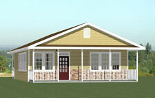 28x32 House -- PDF Floor Plan -- 848 sq ft -- Model 2