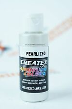 Createx Airbrush Colors 5310 Pearl White 2oz. water-based pearlized paint