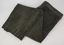 BRIONI SPORT Olive Green Cotton Corduroy Pants Trousers 36x30