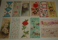 Vintage Lot A 12 Unsigned SUNSHINE GREETING CARDS w/4 Envelopes CRAFTS Scrapbook