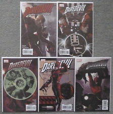 "DAREDEVIL ""CRUEL & UNUSUAL""(1-4) #106-110 SET..BRUBAKER..MARVEL 1ST PRINT.VFN+"