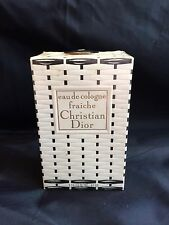 CHRISTIAN DIOR VINTAGE 1950-60s EAU DE COLOGNE FRAICHE 8 OZ (240ml) MINT SEALED