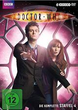6 DVDs * DOCTOR WHO - DIE KOMPLETTE STAFFEL 4 # NEU OVP WVG