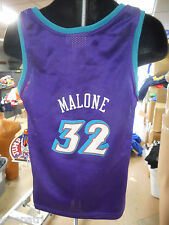 Vintage NBA Utah Jazz Karl Malone Little Kids Basketball Jersey NWT Size 5