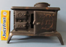 AUTHENTIC OLD BRAND XX CAST IRON TOY STOVE + 1 POT ALL ORIGINAL * ON SALE * T222