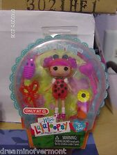Lalaloopsy Mini ~ Target Exclusive ~ Lucky Lil Bug ~ New in Package.