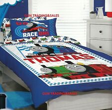 SINGLE BED THOMAS THE TANK ENGINE Licensed KIDS QUILT COVER SET & PILLOWCASE!