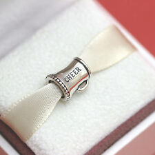 * New!  Authentic Pandora Silver Cheerleader 791125 Daughter Charm w Gift Pouch