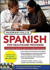 McGraw-Hill's Spanish for Healthcare Providers, Second Edition McGraw-Hill's Sp