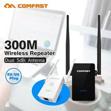Wireless WIFI Router Repeater 300M 2* 5dBi Antenna Wi fi Signal Repeater 802.11N
