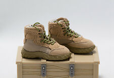 1/6 Soldier Story FCS Testing Team TF Oakely Cloth Desert Combat Boots