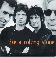 ★☆★ CD Single The ROLLING STONES Like a rolling stone 4-track CARD SLEEVE ★☆★