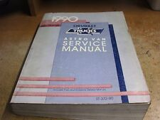 USED 1990 CHEVY TRUCK ASTRO VAN SERVICE MANUAL ST372-90