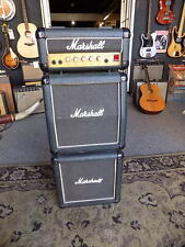 1987 Marshall Lead 12 Full Stack BLACK TOLEX solid state 'The Little Screamer'