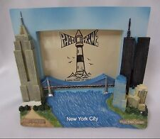 Pre 9/11 New York City World Trade Center Twin Towers 3D Photo Picture Frame