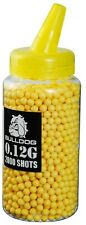 Bulldog 2000 0,12 g highgrade Poli BB pellets balles 6mm airsoft pot jaune
