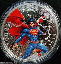 2014 Canada 1 oz Fine Silver Coin  Iconic Superman Comic Cover Annual #1 2012