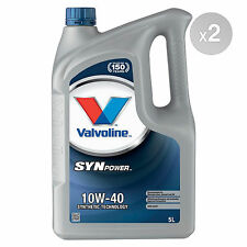 Valvoline SynPower 10w-40 Engine Oil - 4 x 5 Litres 20L