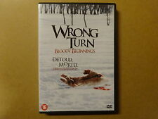 DVD / WRONG TURN - BLOODY BEGINNINGS / DETOUR MORTEL - DEBUTS SANGLANTS