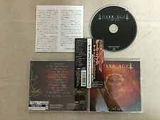 Dark Age - The Silent Republic JAPAN CD 2003 (SBCD-1003) +2 B/T OBI OOP!