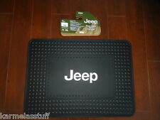 Jeep Logo Cargo Rubber Floor Mat by Plasticolor Licensed product NEW