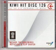 (DH23) Kiwi Hit Disc 126, 16 tracks various artists - 2010 DJ CD