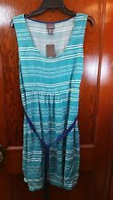 Womens OH BABY by Motherhood Maternity wrap Sleeve Dress Sz L New $48