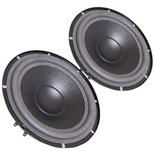 Pair Genuine Tannoy 4DR51740 Woofer is for the PBM 8 Series 1 PBM8 PBM-8 C8 C-8