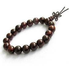 Rosewood Beads Tibet Buddhist Prayer Bracelet Mala